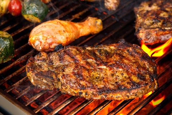In-Villa Barbecue
